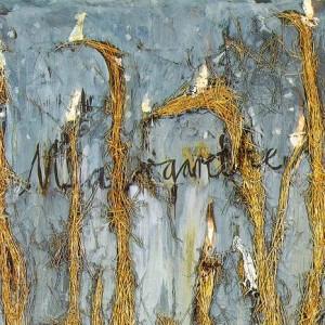 02. (1981) Margarete, Oil and straw on canvas, 280x380cm علی گلستانه دربارهی کالیگرافی معاصر فارسی 02